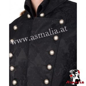 Aderlass Admiral Coat Brocade (Schwarz) 1