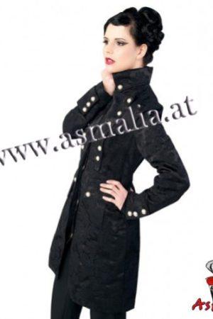 Aderlass Ladys Corsair Coat Brocade (Schwarz)