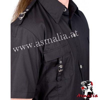 Aderlass Lock Shirt Denim (Schwarz) 1