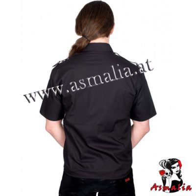 Aderlass Lock Shirt Denim (Schwarz) 2