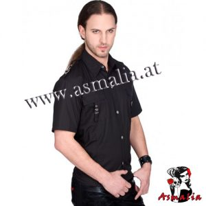 Aderlass Lock Shirt Denim (Schwarz) 3