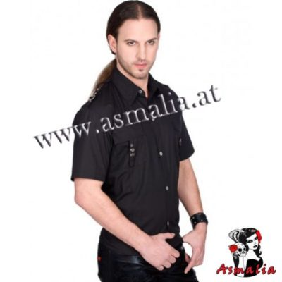 Aderlass Lock Shirt Denim (Schwarz) 3