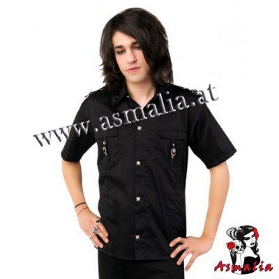 Aderlass Lock Shirt Denim (Schwarz)