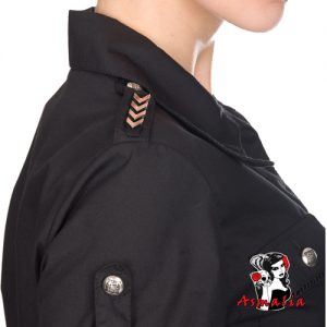 Aderlass Military Blouse Denim (Schwarz) 2