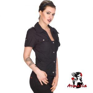 Aderlass Military Blouse Denim (Schwarz)