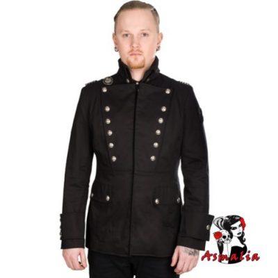 Aderlass Military Jacke Denim (Schwarz)