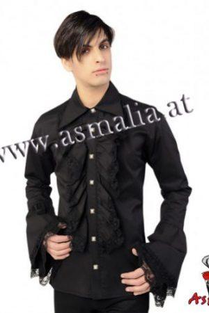 Aderlass Riffle Shirt Denim (Schwarz)