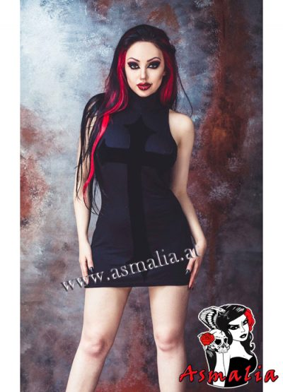 Anahita Mini Dress Necessary Evil Dani Divine