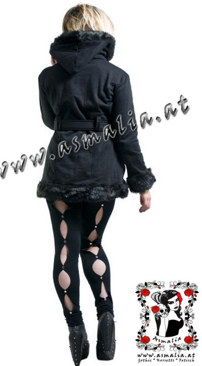 Black Circle Leggings von Necessary Evil N1067 1