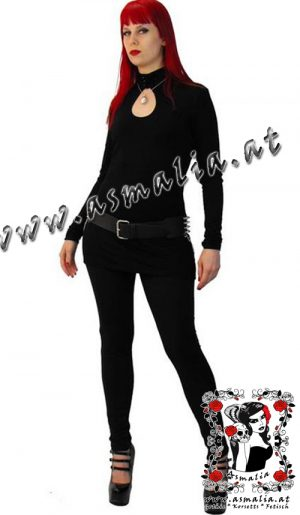 Black Circle Leggings von Necessary Evil N1067