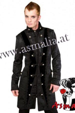 Classic Coat Brocade von Aderlass Asmalia Gothic Shop
