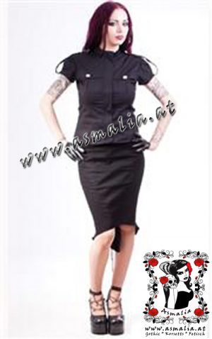 Corra Military Bluse von Necessary Evil N1159