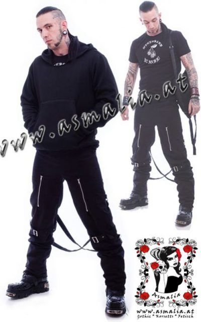 Hoody Bag Combo Necessary Evil Asmalia Gothic Shop