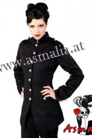 Ladys Army Coat Mantel von Aderlass im Gothic Shop Asmalia