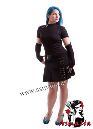 Milisha Safety Pin Mini Skirt Necessary Evil