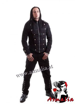 Odin Mens Military Jacket Necessary Evil