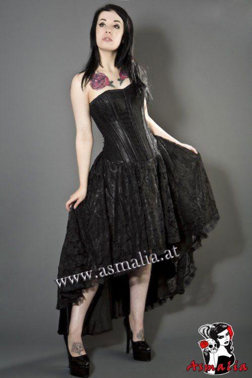 devine-corset-dress-in-black-satin-and-black-lace-overlay – burleska