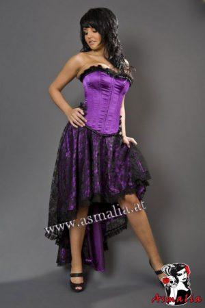 Elizium Rock violett Spitze von Burleska im Gothic Shop Asmalia