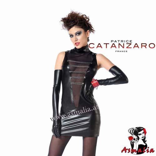 Uzi Robe Kleid Laque schwarz – Patrice Catanzaro