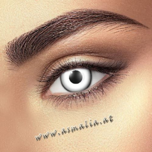 White Kontaktlinsen