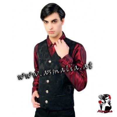 Dark Vest Brocade von Aderlass Asmalia Gothic Shop