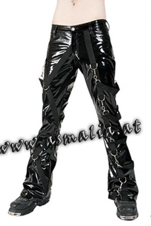 Cross Pants Lacquer Hose von Aderlass Asmalia Gothic Shop