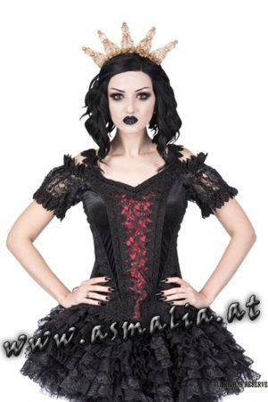 Sinister Lolita Samttop rot 1133