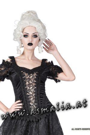 Sinister Lolita Samttop elfenbein 1133
