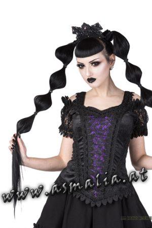 Sinister Lolita Samttop lila 1133