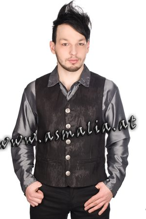 Dark Vest Art Denim von Aderlass Asmalia Gothic Shop