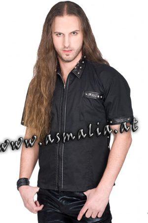 Aderlass Rockstar Shirt Denim im Gothic Shop Asmalia - Wien