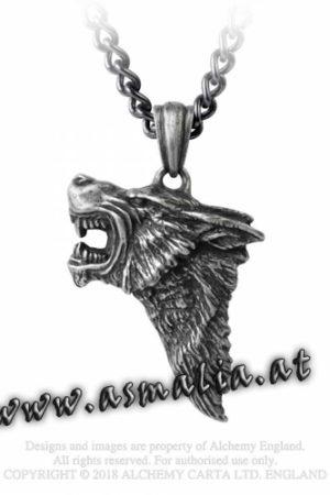 Dark Wolf Kette P833 von Alchemy im Gothic Shop Asmalia