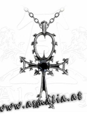 Gothic Ankh Kette P342 von Alchemy im Gothic Shop Asmalia