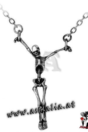 Lost Soul Kette P190 Skelett von Alchemy im Gothic Shop Asmalia