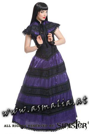 Sinister Kleid Bodenlang lila