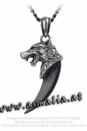 Wolf Macht Kette P788 von Alchemy im Gothic Shop Asmalia