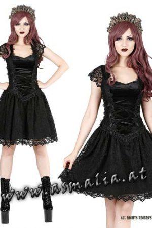 Schwarzes Minikleid schwarz von Sinister 1001