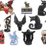 Dekoartikel Drachen Skulls im Gothic Shop Asmalia