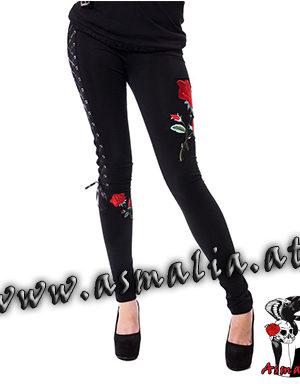 Rose Corset Leggings Vixxsin Asmalia Gothic Shop