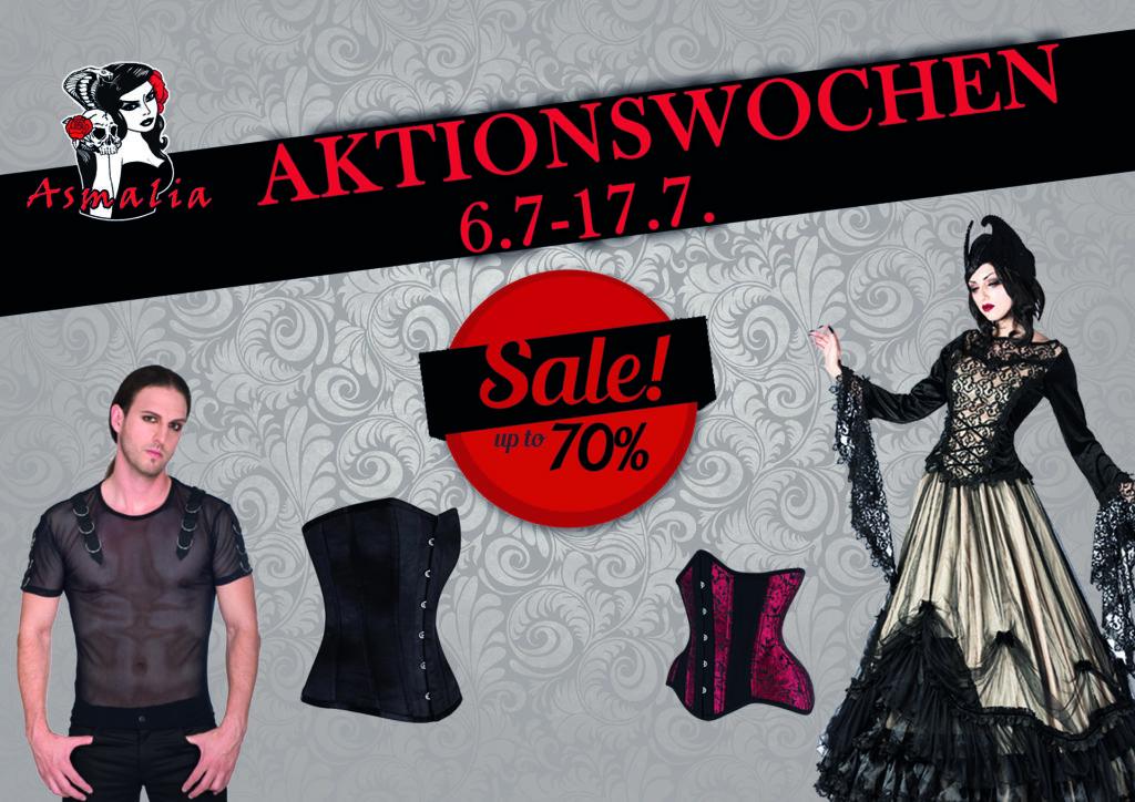 Asmalia Gothic Shop Aktionswoche