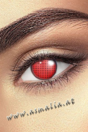 Red Mesh Kontaktlinsen Asmalia Gothic Shop